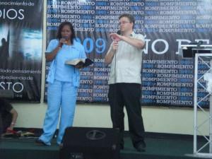 Preaching in Filadelphia