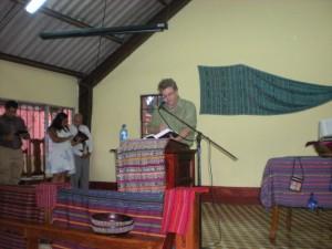Preach at El Buen Pastor