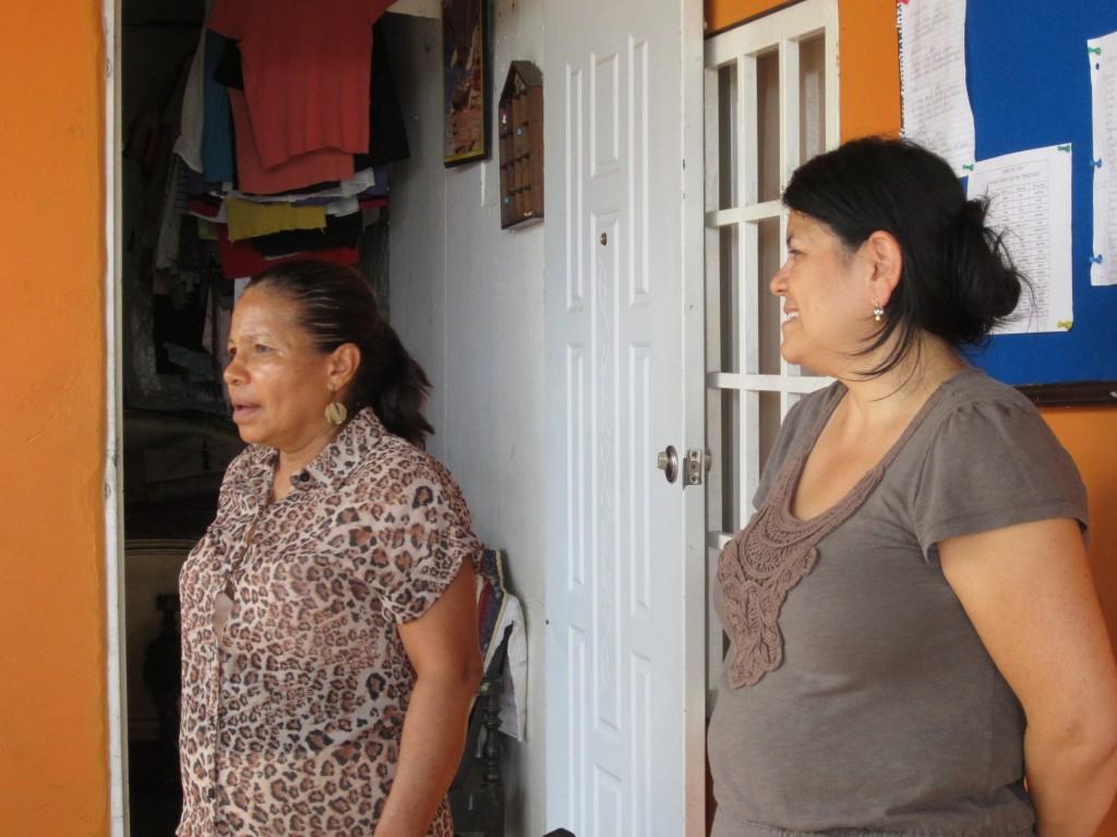 Brenda with Pastora Celina