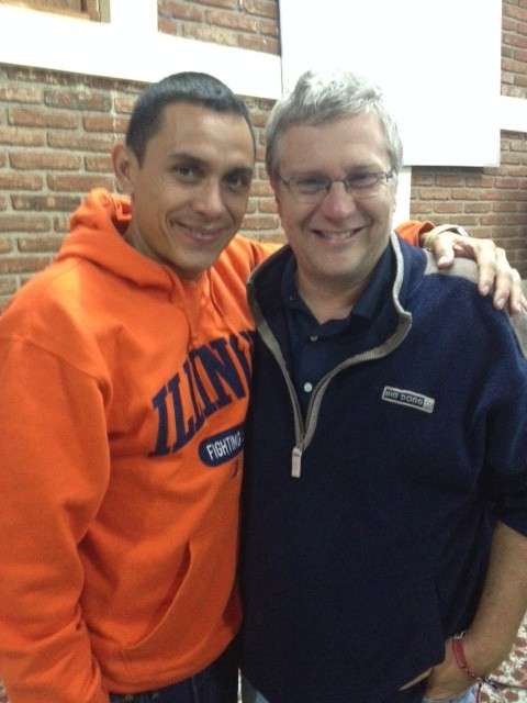 Yenner, the leader of Young Life in Guatemala
